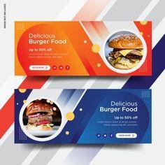 Web Design, Web Banner Design, Book Design, Layout Design, Graphic Design, Social Media Banner, Social Media Design, Banner Template Photoshop, Banner Design Inspiration