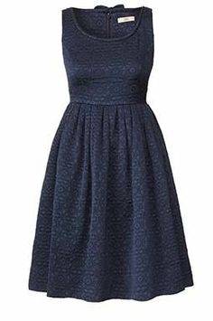 Quilted Flower Sleeveless Dress - by ORLA KIELY