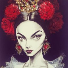 Rambling Rose' (830x830mm) a new work for @friendsofleongallery ‪#‎FORSALE‬! Enquiries to: leon@friendsofleon.com based on beautiful @zhenyakatava backstage at @dolcegabbana ‪#‎SS15‬