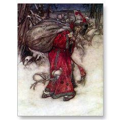 arthur rackham - santa  http://officinavirtualia.blogspot.it