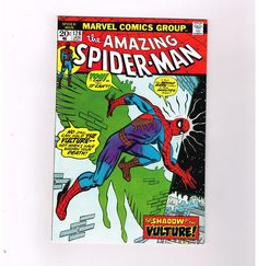 AMAZING SPIDER-MAN #128 Grade 8.5 Bronze Age Marvel! Spidey vs The (3rd) Vulture  http://www.ebay.com/itm/AMAZING-SPIDER-MAN-128-Grade-8-5-Bronze-Age-Marvel-Spidey-vs-3rd-Vulture-/301518009814?roken=cUgayN&soutkn=2512vl