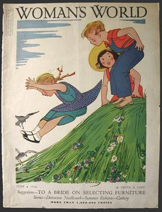 Cover of Woman's World magazine 1924 :Maginel Wright Barney (Enright ) illustrator