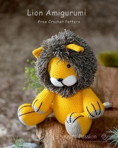 Amigurumi Crochet Sloth Toy Softies Patterns For 2020 Lion Crochet, Crochet Sloth, Cute Crochet, Yarn Animals, Crochet Animals, Crochet Patterns Amigurumi, Crochet Dolls, Amigurumi Minta, Stuffed Animal Patterns