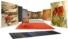 Stephanie Odegard Collection- Carpets, Wall Hangings, Tapestries, Furniture