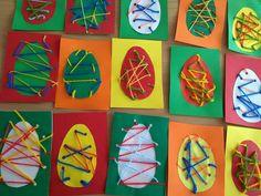 Easter Art, Easter Crafts For Kids, Easter Activities, Preschool Crafts, Sunday Activities, Montessori Art, Spring Crafts, Art For Kids, Sunday School