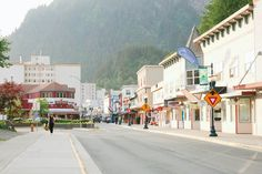 Downton Juneau, Alaska.