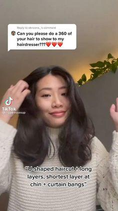 Layerd Hair, Layered Hair With Bangs, Medium Length Hair With Layers, Short Layered Haircuts, Long Layered Hair, Asian Short Hair, Medium Short Hair, Medium Hair Cuts, Girl Short Hair