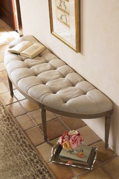 Louis Curve Bench - Benches, Furniture, Home Decor | Soft Surroundings