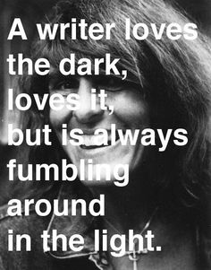 Why I Write: Thoughts on the Craft of Fiction (public library), Joy Williams considers the impetus for writing. Writing Quotes, Writing Advice, Writing Prompts, Writer Memes, Joy Williams, I Am A Writer, A Writer's Life, Writers Write, Writing Inspiration