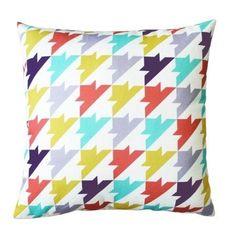 Cross Stitch Throw Pillow