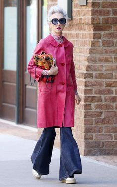 68-year-old Linda Rodin could pass for a bona fide street style star, and this outfit is proof.