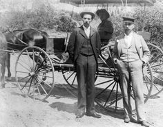 Men and buggy :: Western History, 1894, 1890 - 1900