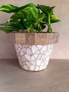 A personal favorite from my Etsy shop https://www.etsy.com/listing/249234755/mosaic-tile-flower-pot-indoor-planter