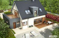 Projekty domów ARCHIPELAG - Mati G1