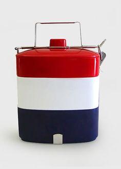 Tricolour lunch box