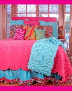 Teen Bedding, Children & # s Bedding, Designer Bedding for Girls, Girls Bed Sets, Teenage Gi Preteen Bedroom, Teen Girl Bedding, Teen Girl Bedrooms, Big Girl Rooms, Teen Rooms, Trendy Bedroom, Bed Sets, My New Room, My Room