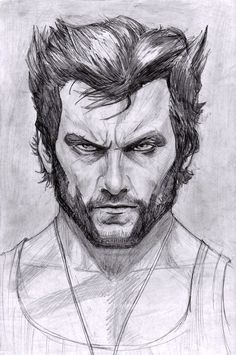 Wolverine - Hugh Jackman by ArtOfIDAN