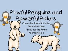 "Playful Penguins and Powerful Polars:  Count the Room from Everyday Adventures on TeachersNotebook.com -  (12 pages)  - add, subtract, or combo of both as a ""count the room"" activity"