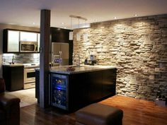 Adding a kitchen to your basement space allows greater flexibility for entertaining or housing guests.