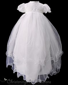 9fd88be2e 12 best Christening Gowns images | Baptism gown, Christening outfit ...