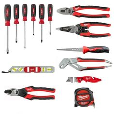 Milwaukee 48-22-0100 Electrician's Starter Hand Tool Kit