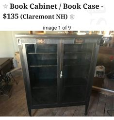 Book Cabinet, China Cabinet, Armoire, Bookcase, Storage, Furniture, Home Decor, Footlocker, Homemade Home Decor