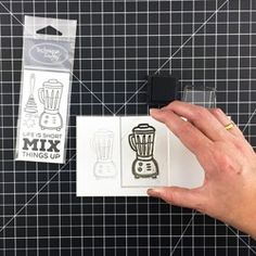 Check it out! How to Use Clear Stamps - Tutorial - 5 Easy Steps at Technique Tuesday.