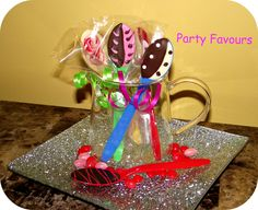 Great Chocolate Spoons made by the Cake-Pop Cuties