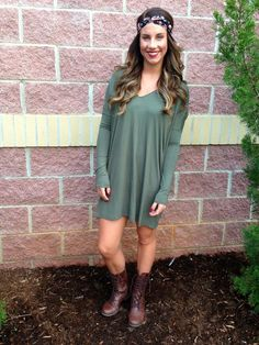 Piko long sleeve v-neck tunic-more colors