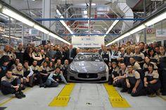 Prime 10.000 Maserati prodotte nello stabilimento Avv. Giovanni Agnelli di Grugliasco | in Italia 24