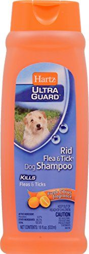 Dog Flea Control Shampoos - Hartz UltraGuard Rid Flea  Tick Shampoo for Dogs 18oz Citrus -- You can get more details by clicking on the image. (This is an Amazon affiliate link)
