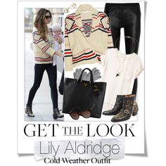 Get The Look - Lily Aldridge - Thanks Polyvore for including my set on Top Sets by renatademarchi, via Polyvore