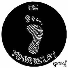 #Barefoot #Healthy #Legal #BIL  #BarefootIsLEGAL