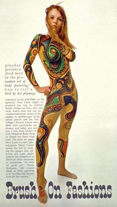 Brush On Fashions Through the Eyes of Mario CasilliPlayboy 1968