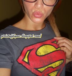 #lips #superwoman #supergirl #oculosnerd #sexynerd