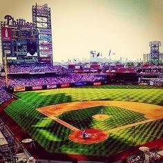Philadelphia Phillies Phillies Baseball, Baseball Park, Baseball Field, Philadelphia Sports, National League, And So The Adventure Begins, Life Is Beautiful, Summertime, Pennsylvania