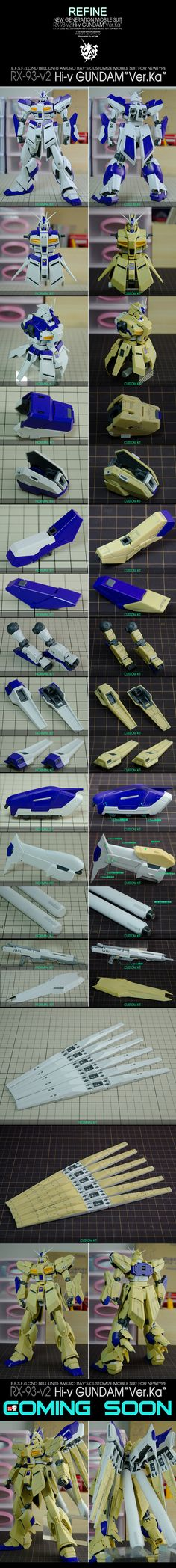 [MG Hi Nu Gundam Ver.Ka Remodeling] REFINE RX-93-v2 Hi Nu Gundam Ver.TF: Work by toufu. Full Photoreview A LOT of HD Images, WIP too http://www.gunjap.net/site/?p=239099