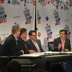The Young Turks @ politicon. These guys are hilarious and right on point. #theyoungturks #tyt #politicon #laconventioncenter #democracy #politics : @brandonscott570