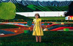 New Zealand artist, Jeffrey Harris Artist Painting, Printmaking, Landscape Paintings, New Zealand, Artwork, Flowers, Image, Edvard Munch, Level 3