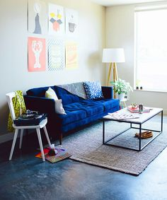 5 Easy Ways To Get The PERFECT Studio Apartment #refinery29  http://www.refinery29.com/seattle-studio-west-elm-makeover
