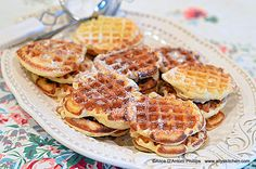 'Vintage Buttermilk Sugar Waffles'  Come eat one of my 1950s breakfasts!