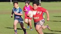 9-year-old rugby sensation goes 'beast mode' on his opponents