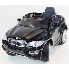 rideoncarstorecom ride on car bmw x6 black with radio remote control mp3 powered toy