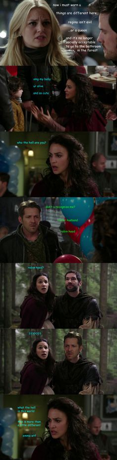 This is how the scene should have gone.  #Ouat Season 3 finale