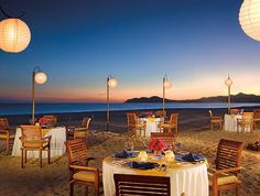 Zoetry Casa Del Mar Los Cabos...this is where we had our first dinner alone as husband and wife. Must. Go. Back.