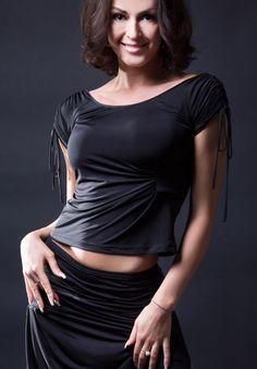 Santoria Proska Latin Dance Top T5114| Dancesport Fashion @ DanceShopper.com