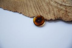Genuine Baltic amber donut, Amber pendant, cognac amber, dark amber, 19 mm donut, Rare amber, 琥珀 by AmberGiftLT on Etsy