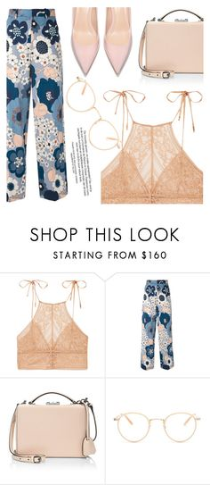 """""""Ties"""" by floralandmay ❤ liked on Polyvore featuring STELLA McCARTNEY, Chloé, Mark Cross and Garrett Leight"""