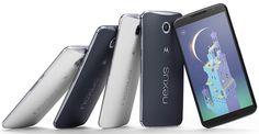 Google Nexus 6を発表。Android 5.0と5.9型 2560 x 1440有機EL搭載、11月発売