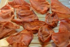 a number of great ideas for dehydrating dog treats